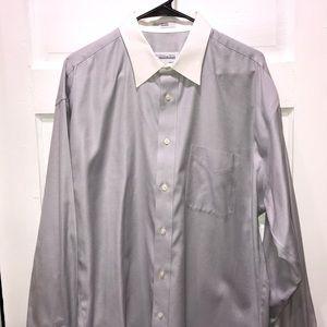 Joseph & Feiss Long Sleeve Dress Shirt SIZE 16 1/2